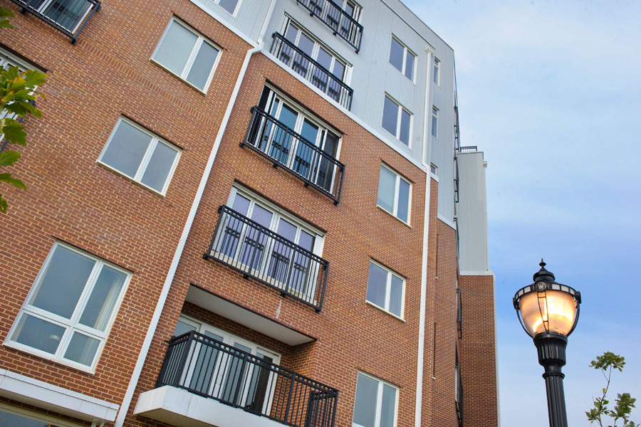 balconies of building at Apartment in Wilmington DE