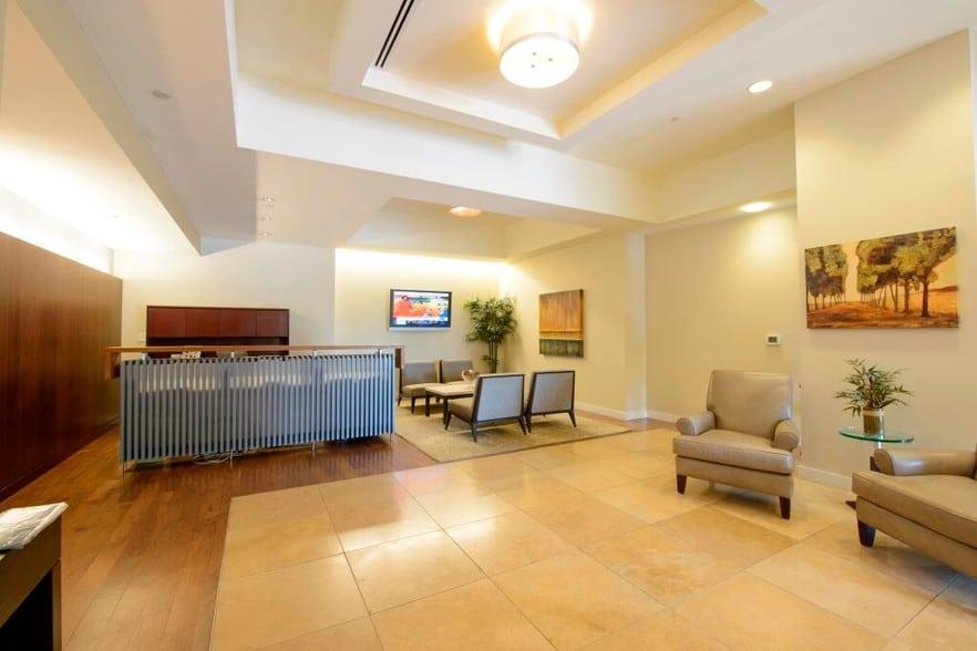 building lobby of Apartment in Wilmington DE