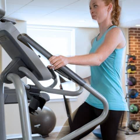woman exercising at Apartment in Wilmington DE