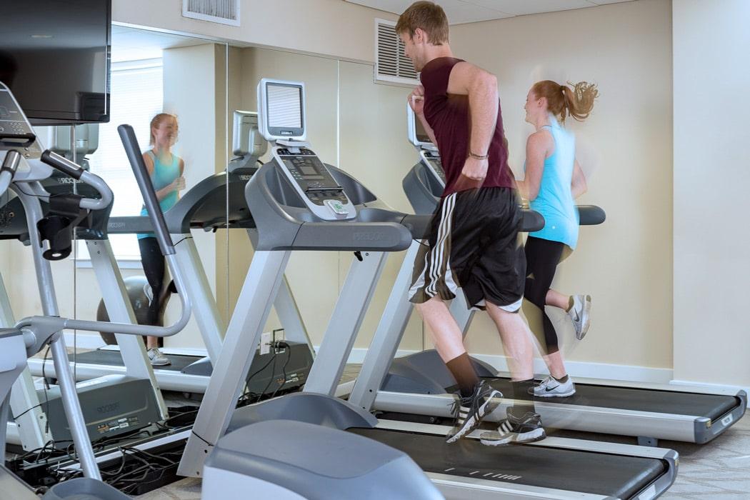 people running on treadmills at Apartment in Wilmington DE