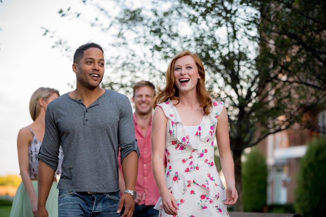 friends walking through park near Apartment in Wilmington DE