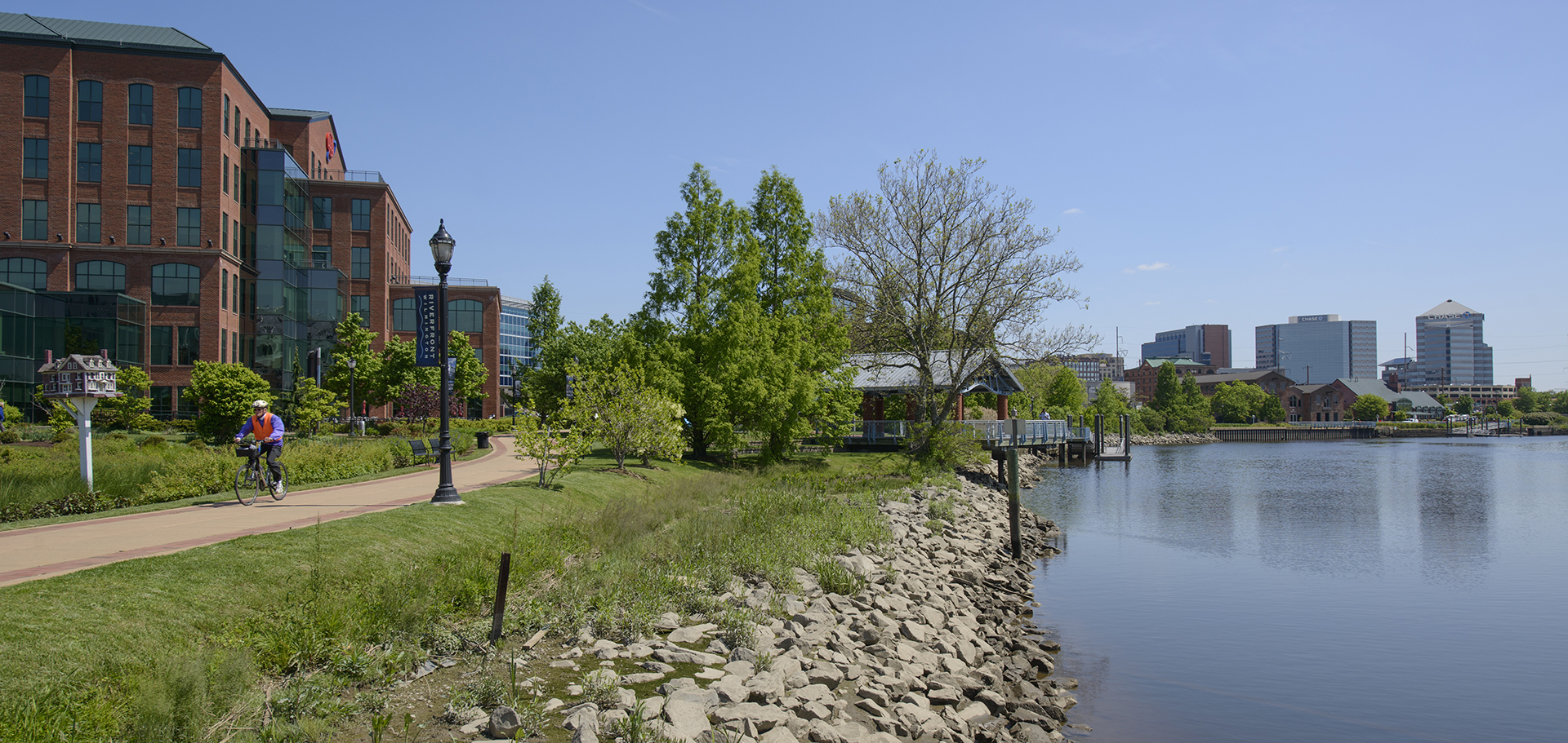 Christina River in Wilmington, DE near the residences at justison landing