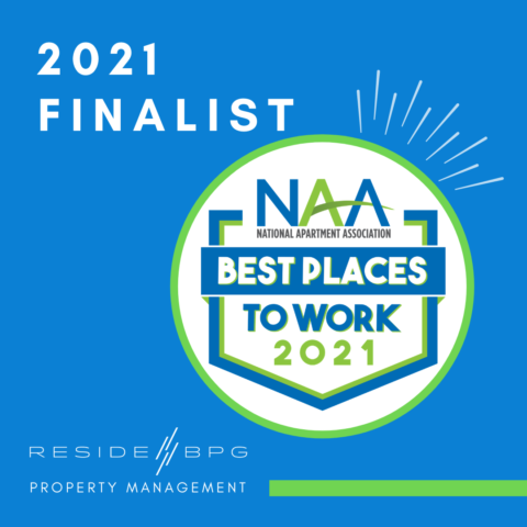 ResideBPG Named Finalist in 2021 NAA Best Places to Work Awards
